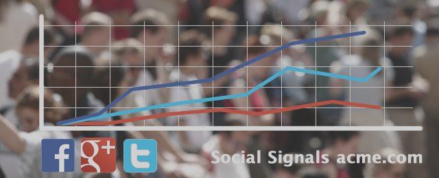 Social SEO Signale