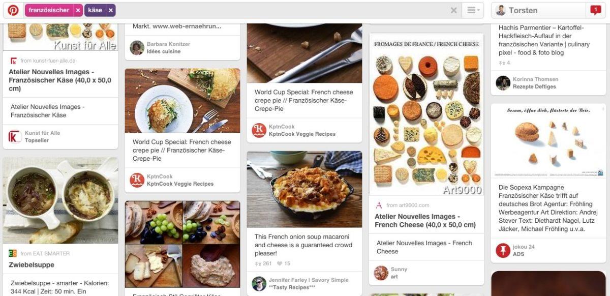 Pinterest für kleine Unternehmen