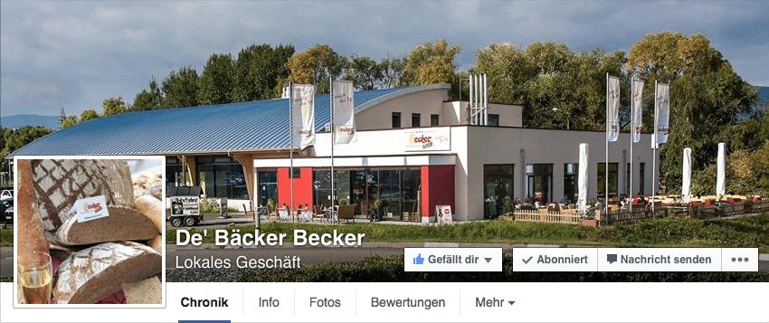 Facebook Seite - Titelbild