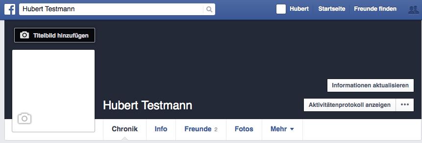 Facebook Profilbild bearbeiten