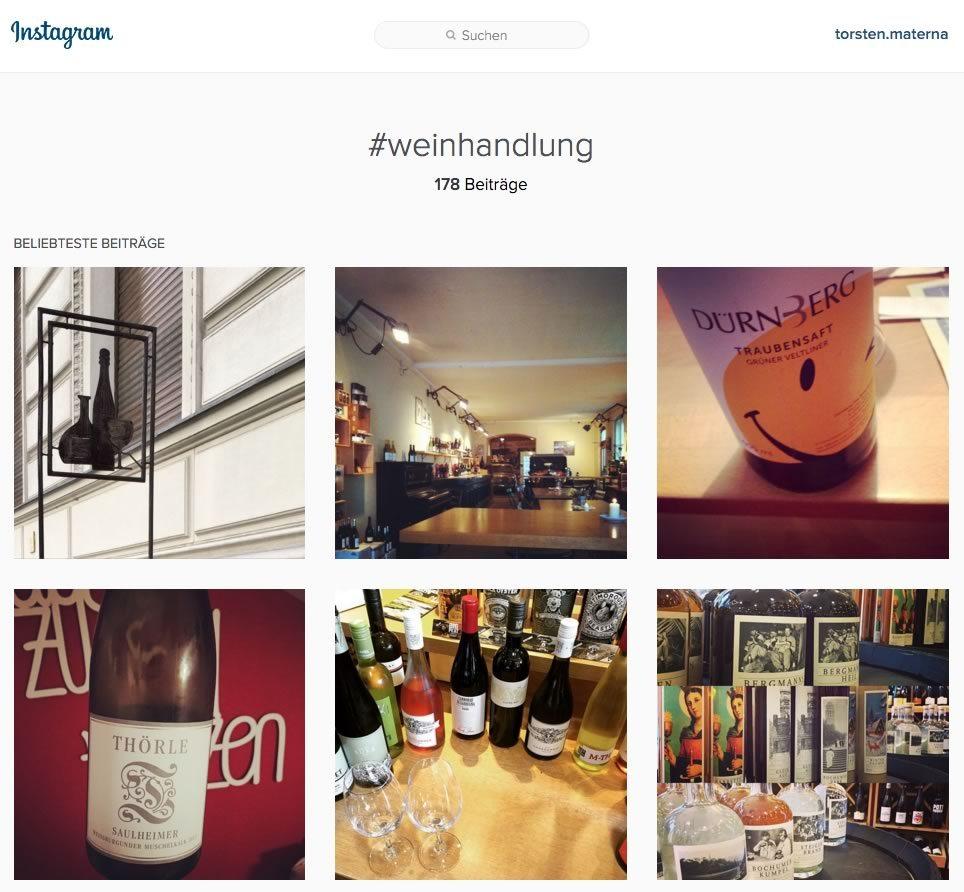 Instagram für den Einzelhandel