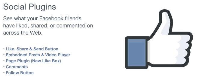 Facebook Social Plug-Ins