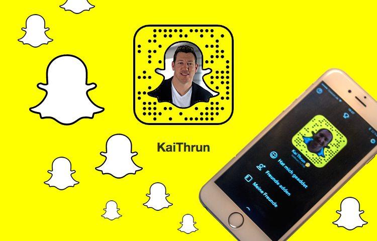 Snapchat im Alltag - von Kai Thrun