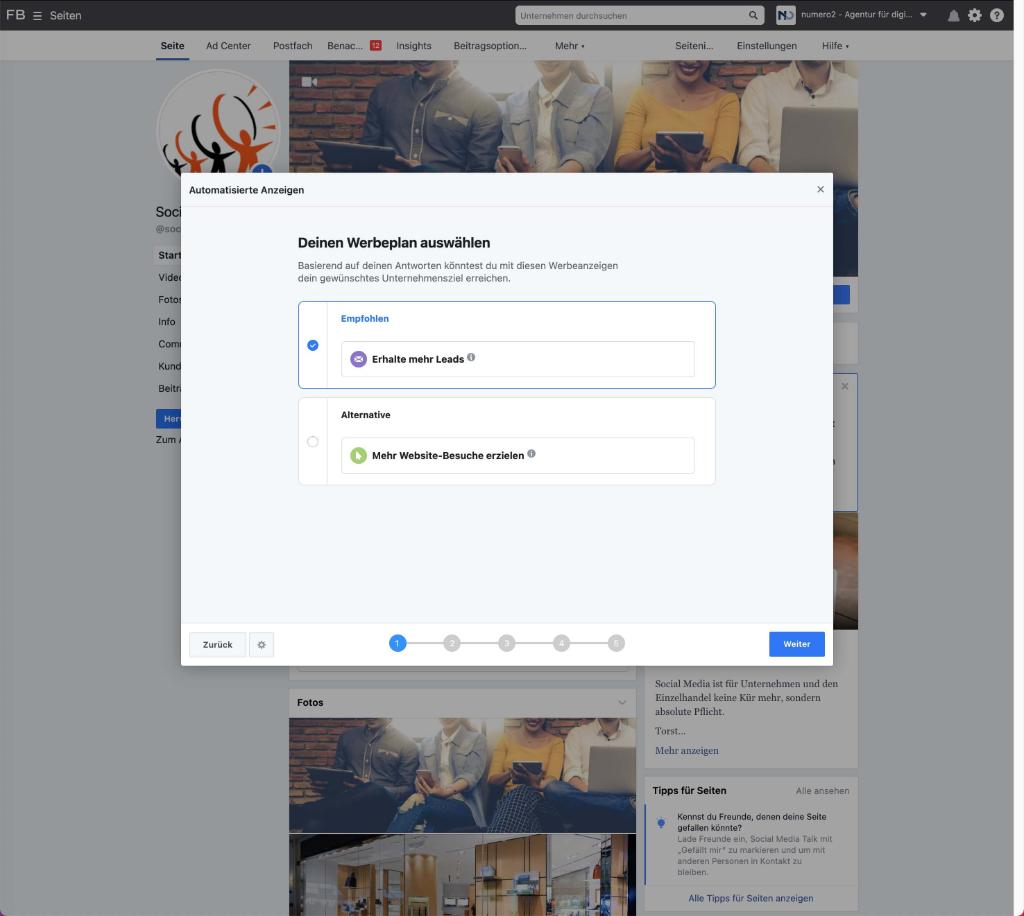 Was soll der Facebook-Algorithmus für Dich tun?